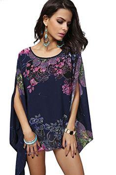 JD SUITCASE Women's Batwing Sleeve Loose Chiffon Dress Bo... https://www.amazon.ca/dp/B06WVNJNLJ/ref=cm_sw_r_pi_dp_x_jlGYybJD2ZWSA