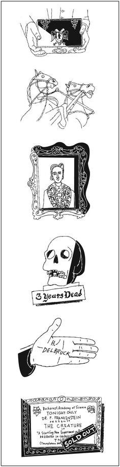 Paul Rogers spot illustrations