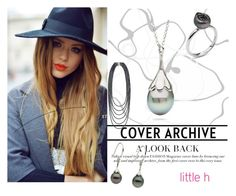"""""""LITTLE h JEWELRY"""" by lejla-cergic ❤ liked on Polyvore featuring Pearl & Black, pearljewelry and littlehjewelry"""