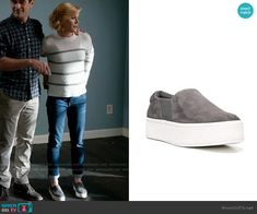 Claire Dunphy Fashion on Modern Family Modern Family Episodes, Julie Bowen, Joie Shoes, Other Outfits, Celebrity Outfits, Suede Sneakers, Claire, Slip On, Fashion Outfits