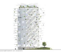 "Winning team chosen to build 2nd ""Architectural Folie of the 21st century"" in Montpellier"