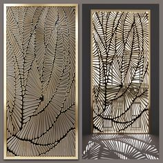 models: Other decorative objects - Decorative partition Decorative Metal Screen, Decorative Panels, Decorative Objects, Gate Design, Door Design, Pattern Wall, Jaali Design, Cnc Cutting Design, Room Partition Designs