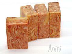 Golden Toffee - handmade Cold Process soap #soApbyAniri