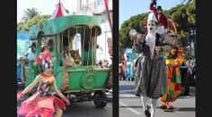 The circus parade | Circus shows | Shows | Walk around acts | Others | Performers | Entertainment Agency | Corporate Event Entertainment