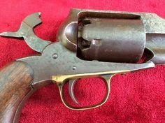 """.36 calibre 6 shot Remington Percussion """"Navy Model"""" Revolver c.1861-1862."""