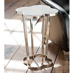 Interior HomeScapes offers the Clover Table by Regina Andrew Design. Visit our online store to order your Regina Andrew Design products today. Table Topics, Metal End Tables, Side Tables, Marble Top Side Table, Residential Lighting, Modern Moroccan, Quatrefoil, E Design, Interior Design