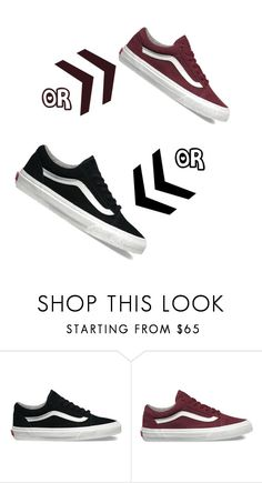 """Which Color?"" by kassandra-cdxv ❤ liked on Polyvore featuring Vans"