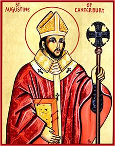 Story about St. Augustine of Canterbury - Feast Day 05/27: https://twitter.com/pamphletstoinsp/status/736176176968826885
