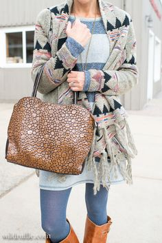 Layer up patterns and textures for fall