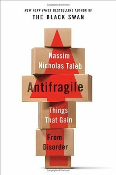 Antifragile: Things That Gain from Disorder by Nassim Nicholas Taleb. $16.95. Save 44% Off!. http://yourdailydream.org/showme/dpqdw/1q4d0w0m0i6e7h8e2r0p.html. Author: Nassim Nicholas Taleb. Publisher: Random House (November 27, 2012). 544 pages