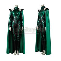 Department Name:Adult;Gender:Women  Material: Plolyester  Character: Hela  Include: Jumpsuit, cape  Size:Any size, all items in our store are custom m