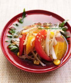 お盆料理の参考に♪「夏野菜の胡麻酢びたし」