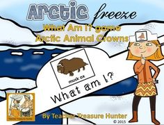 Students wear a crown with an Arctic animal on it and they have to ask questions to figure out which animal they have. This can be played as a whole class activity (there are 20 animals so larger classes will need to use some animals more than once) or as a single student asking questions to the class or as a small group activity.