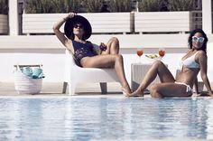 Poolside drinks and laid-back atmosphere, at #iospalace, on #Iosisland iospalacehotel.com