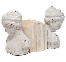 Home Accents Woman Bust Bookend (Set of 2)
