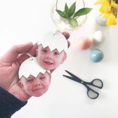 """622 Synes godt om, 29 kommentarer – Heidi Korsgaard (@denkreativesky) på Instagram: """"Klipper Små nye æggehoveder elsker det der ansigtsudtryk silke kommer med #påskepynt…"""""""