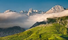 Picos de Europa in Asturias. On my list of  places to go while in España.
