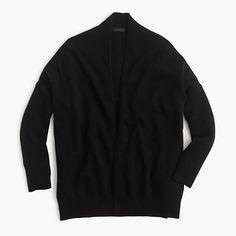 "An easy, slightly oversized layer that's going to go straight to the top of your ""favorite sweaters"" list. It's polished enough for work and cozy enough for lazy Sundays. <ul><li>Slightly oversized fit.</li><li>Hits slightly below hip.</li><li>Wool/nylon/viscose.</li><li>Rib trim at cuffs.</li><li>Dry clean.</li><li>Import.</li></ul>"