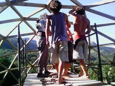 Domo Geodesico de Madeira Encantada SC