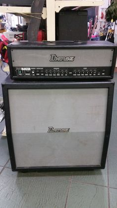 Let your #music be heard with this #Ibanez halfstack!