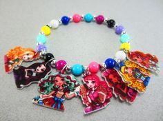 Ever After High Charm Bracelet Ever After High by ChildishAntics