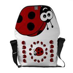 Ladybugs Commuter Bag
