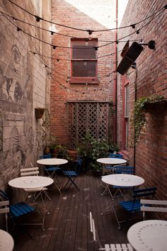 Great Outdoor Space // Seattle: Oddfellows Café & Bar - Kinfolk                                                                                                                                                                                 More