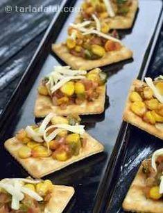 Masala Corn, Masala Corn On A Cracker recipe Pasta Recipes Indian, Corn Recipes, Veggie Recipes, Savory Snacks, Easy Snacks, Vegetarian Snacks, Appetizer Recipes, Snack Recipes, Kitchens