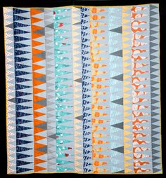 Tangelo quilt by Beth Walter of Pressandpin.com.