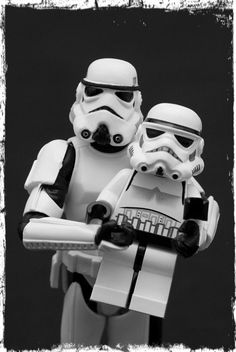 Stormtrooper Family Portrait
