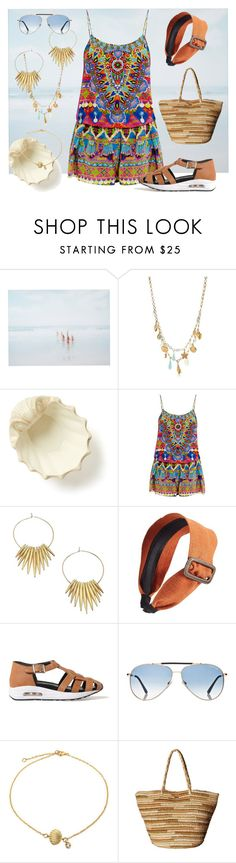 """Beach Holiday"" by dundiddit ❤ liked on Polyvore featuring She Hit Pause Studios, Kate Spade, Isolá, Camilla, Michael Kors, Ficcare, Susana Traça, Tom Ford, Bling Jewelry and Roxy"