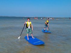 MustDo.com Holiday Water Sports standup paddle boards Ft. Myers Beach, Florida