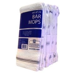 Bakers & Chefs Bar Mops - 24pk by Bakers & Chefs, http://www.amazon.com/dp/B001UFB6G6/ref=cm_sw_r_pi_dp_PAi1qb0YQWT2V