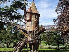 a princess treehouse