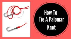 How To Tie A Palomar Knot On A Fishing Hook   Fishing Knots
