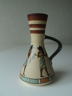 Dumler und Breiden ceramic vase by Veryodd on Etsy, $59.95