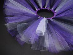 Black, white and purple tutu- Infant:. $13.00, via Etsy.