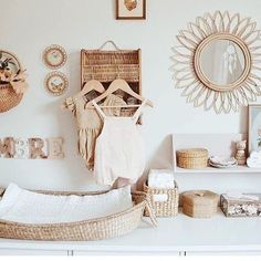 5 Reasons for a Rustic Nursery – Soo Deco – Babyzimmer - Baby Room Baby Bedroom, Nursery Room, Girl Nursery, Kids Bedroom, Nursery Decor, Nursery Ideas, Hippie Nursery, Bedroom Art, Nursery Design