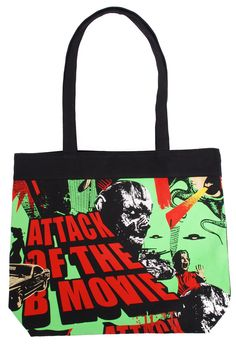 Hell Bunny purse | Hell Bunny B Movie Tote bag - front