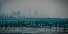 View from a very long distance (Juhu Beach)