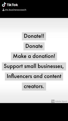 Sometimes we can't always make a purchase or pay for a subscription. If you want to support ask if you can donate. Support Small Business, The Creator, Management, How To Make