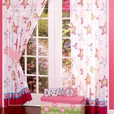 Combinación para el cuarto de las pequeñas hermosos colores que tus hijas amaran. Decoración perfecta para este verano.