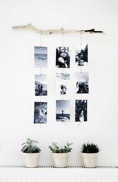 Fotowand selber machen - einfaches DIY Projekt                                                                                                                                                                                 Mehr