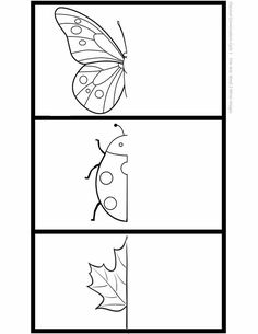 Discover ideas about mirror image Cc Drawing, Fine Art Drawing, Drawing For Kids, Art For Kids, Symmetry Activities, Art Activities, Classical Education, Art Education, Art Worksheets