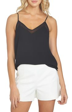 1.STATE Chiffon Inset Camisole   Nordstrom