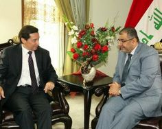 BAGHDAD – morning: Search First Deputy Speaker of Parliament Qusay al-Suhail with the French ambassador to Baghdad, Donny Coeur latest developments in Iraq and the region and the prospects of joint cooperation between the two countries and ways of developing them.