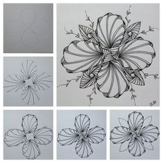 Zentangle inspired art ZIA: