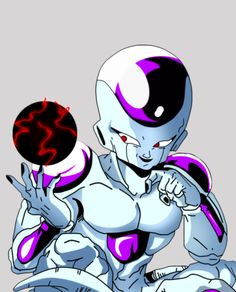 "Freeza, villain in ""Dragon Ball Z"" by Akira Toriyama"