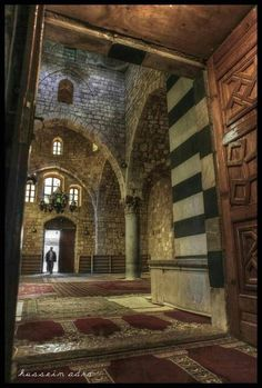 Old mosque in Tripoli Lebanon