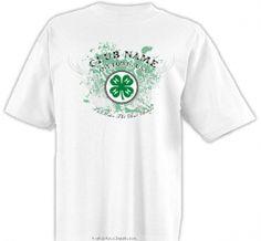 4-H Club Calligraphy Shirt - 4-H Club Design SP2712